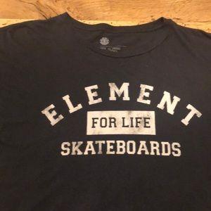 Element For Life Skateboards T-Shirt Men's XL